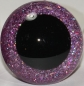Preview: 1 Paar Sicherheitsaugen Glitter Holo irisierend Light Purple